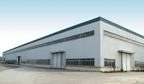light steel prefab warehouse shop for sale in china mainland