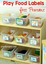 preschool kitchen furniture dramatic play printable labels dramatic play dramatic play