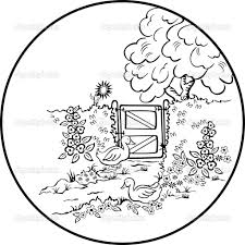 beautiful nature scenes coloring pages coloring page for kids