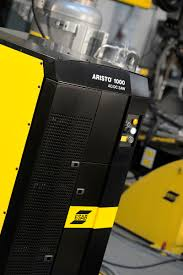 esab column and boom welding automation solves capacity problem