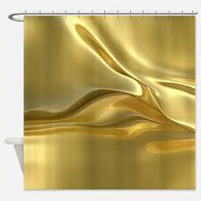 Gold Foil Curtain by Foil Shower Curtains Cafepress