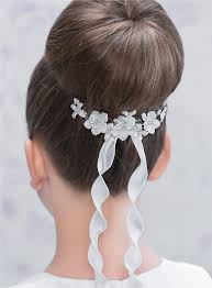 communion hair accessories best 25 communion hair ideas on communion