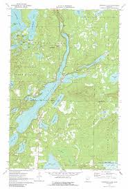 Map Mn Roosevelt Lake Topographic Map Mn Usgs Topo Quad 46093g8