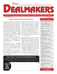 dealmakers magazine october 14 2011 by the dealmakers magazine