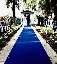 aisle runners blue wedding aisle runners ebay