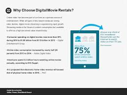 digital movie rentals target a broad audience with the gift of
