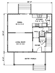 American House Floor Plan The Foursquare Gmf Architects House Plans Gmf Architects