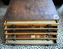 found vintage flat file the gathered home