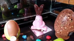 easter chocolate displays in paris mad about macarons