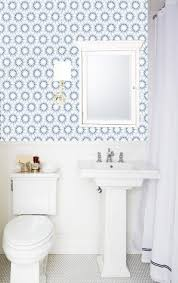 bathroom wallpaper designs easy quick bathroom makeovers with removable wallpaper brit co