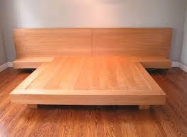platform bed ideas upholstered square stitched platform bed grey