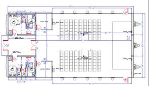 purpose of floor plan modular building solutions for church and multipurpose space