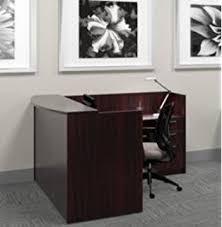 L Shaped Reception Desk Counter Amazon Com 3pc L Shape Modern Glass Counter Reception Desk Set