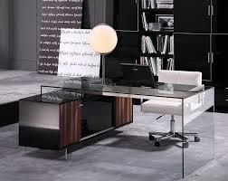 amazing of modern glass office desk modern glass desks executive