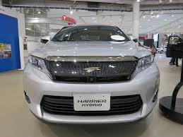 2015 toyota harrier toyota harrier hybrid 2 5 autolink holdings