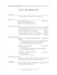 resume format for nursing assistant sample objective cna samples