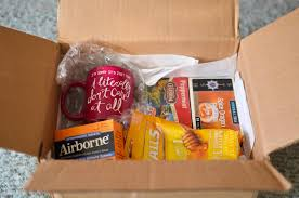care package for someone sick the 7 care packages you ll get during college