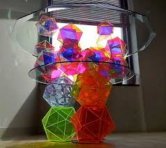 Crystal Coffee Table by Glass Top Coffee Table Turned Into Art Object By Spectacular