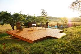 Cantilevered Deck by What Is A U201cfreestanding Deck U201d And Why Would You Want One