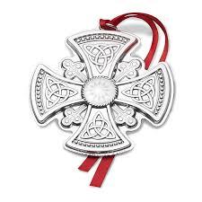 gorham cross 2017 gorham silver ornament