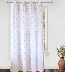 amazon com driftaway ellie white voile sheer window curtains with