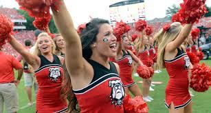 college football u0027s best cheerleaders from week 1