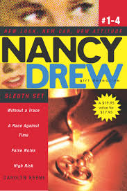 nancy drew all new detective books by carolyn keene from