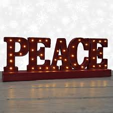 17 merry lighted wood sign
