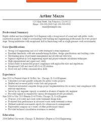Civil Resume Sample by Eye Grabbing Resume Objectives Samples Livecareer