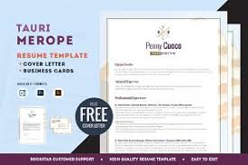 Free Cover Letter And Resume Templates Resume Template Free Cover Letter Resume Templates Creative
