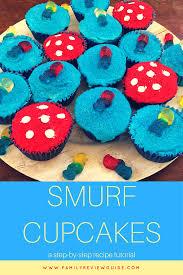 fun easy smurf cupcake tutorial family review guide