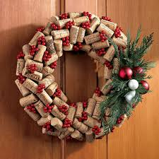 wine cork wreath the green