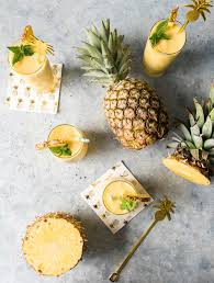 pineapple white wine slushies summercocktail