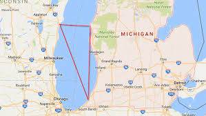 map of michigan lakes the lake michigan triangle a great lakes mystery haunted soul