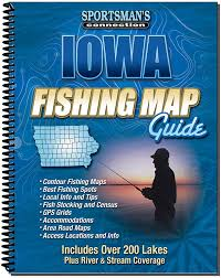 Iowa Road Conditions Map Amazon Com Iowa Fishing Map Guide Fishing Charts And Maps