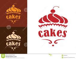 cakes bakery emblem stock vector image 43850001