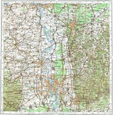 Mannheim Germany Map by Download Topographic Map In Area Of Mannheim Darmstadt