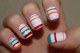 stripe nail art u2013 slybury com
