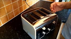 Morphy Richards Accents Toaster Review Swan Toaster Review Youtube