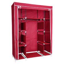metal frame portable closet