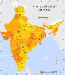 World Map Of India rivers and lakes india map maps of india