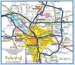 Syracuse Zip Code Map by Syracuse Map My Blog