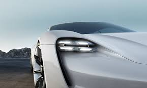 porsche headlights porsche mission e headlight teslarati com