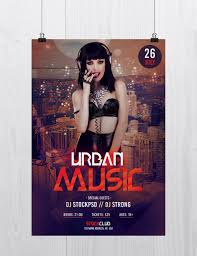 stockpsd net u2013 free psd flyers brochures and more urban music