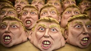 How To Look Like A Zombie For Halloween Why Americans Are Lining Up To Look Like Donald Trump This