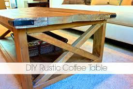 Rustic Wood Furniture Diy Lovely Rustic Coffee Table Diy With Diy Rustic Wood Coffee Table