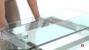Table De Sejour En Verre by Www Calligaris Store Com Tower Table Extensible Youtube