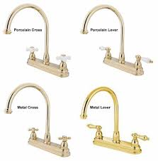 polished brass kitchen faucet kitchen faucets