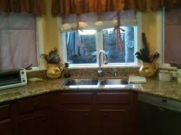 Window Treatment For Bow Window Kitchen Cool Modern Style Small Kitchen Windows With Small Bay