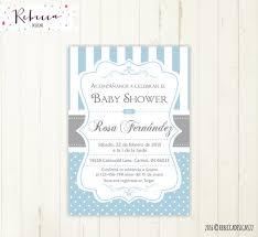 Wedding Invitations In Spanish Baby Shower Invitation In Spanish Boy Baby Shower Spanish